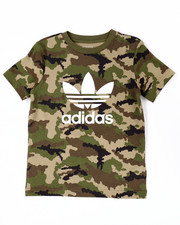 Sizes 8-20 - Big Kids - JUNIOR TREFOIL CAMO TEE (8-20)