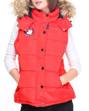 Women - Weather Gear Quilted Vest