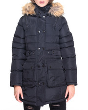 Women - Sassy Lady Big Faux Puffer Coat