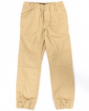 Sizes 8-20 - Big Kids - TWILL MOTO JOGGERS (8-20)