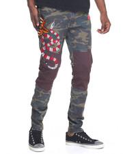Pants - Snake Moto - Style Pants