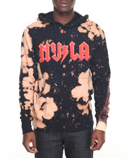 Buyers Picks - N Y L A Bleached Pullover Hoodie