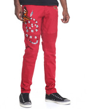 Men - Snake Moto - Style Pants