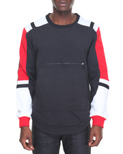 Men - Simply Color Block Crewneck Sweatshirt