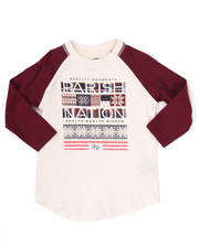 Tops - SNOW DAY RAGLAN TEE (2T-4T)