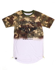 Akademiks - FADED BATTALION TEE (8-20)