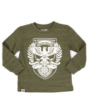 Tops - L/S EAGLE CREST TEE (4-7)