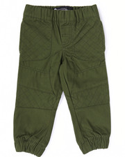 Bottoms - TWILL MOTO JOGGERS (2T-4T)