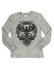 Tops - L/S EAGLE CREST TEE (8-20)