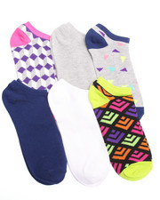 Women - Geomix 6Pk Low Cut Socks
