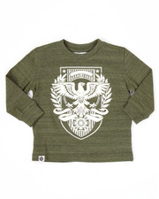 Boys - L/S EAGLE CREST TEE (2T-4T)