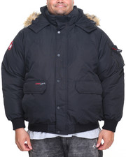 Men - Canada Weathergear Heavyweight Bomber Coat (B&T)