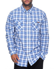 Enyce - Enyce Plaid L/S Button-Down (B&T)