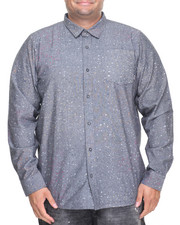LRG - Splatter L/S Button-Down (B&T)