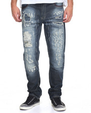Men - Rip Repair Denim Jean