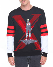 Men - B P 'X' - Man Crewneck Sweatshirt