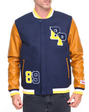Varsity Jackets - B P Logo Varsity Jacket