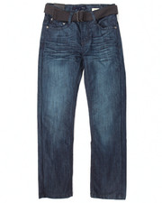 Boys - BELTED MERCERIZED JEANS (8-20)