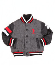Heavy Coats - WOOL VARSITY JACKET (2T-4T)