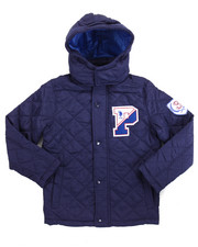 U.S. Polo Assn. - QUILTED MIDWEIGHT JACKET (8-20)