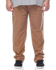 Jeans & Pants - Elastic Waist Suede Twill Pant (B&T)