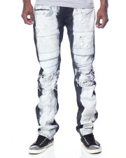 Men - Powerbleach Slim - Straight Denim Jeans