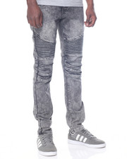 Men - Montana Washed Biker Jean
