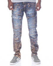 Men - Foil - Coated Carpenter Denim Jeans