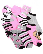 Women - Animal Critters 10PK Low Cut Socks