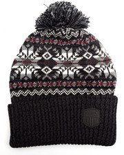 Men - Fairisle Pom Pom Beanie