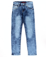 La Galleria - SUPER SOFT CLOUD WASH DISTRESSED SKINNY JEANS (7-16)
