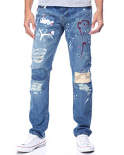 Jeans & Pants - WASHINGTON PAINTED RIP - AND - REPAIR Denim JEAN