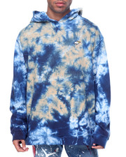 Men - 4th of November Tye Dye Pullover Hoodie