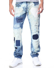 Jeans & Pants - PUTNAM Patched Rip - And - Repair Denim JEANS