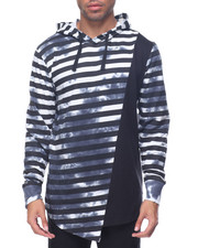 Buyers Picks - Acid Wash Stripe Hoodie
