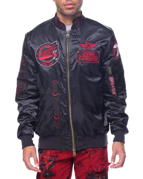 Buy Heritage America Bomber Jacket Men&39s Outerwear from Heritage