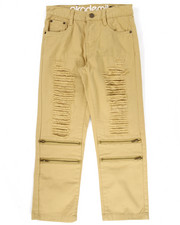 Pants - DISTRESSED TWILL PANTS (8-20)