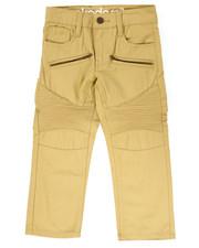 Pants - TWILL MOTO PANTS (4-7)
