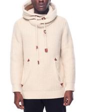 Hudson NYC - Knitted Pullover Hooded Sweater