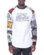Shirts - Onyx Raglan Crew