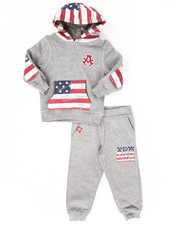 Sets - 2 PC AMERICAN FLEECE SET (2T-4T)