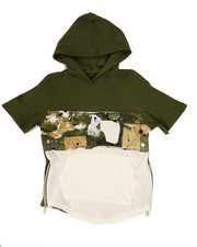 Hoodies - S/S THERMAL SPLATTER CAMO HOODY (8-20)