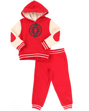Sets - 2 PC VARSITY FLEECE SET (2T-4T)