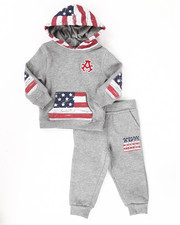 Boys - 2 PC AMERICAN FLEECE SET (INFANT)