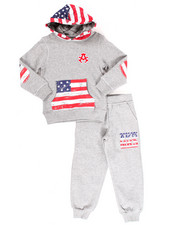 Boys - 2 PC AMERICAN FLEECE SET (4-7)