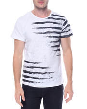Men - Faded Stripe Tee