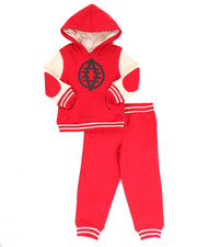 Boys - 2 PC VARSITY FLEECE SET (INFANT)