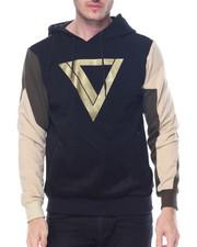 Men - Gold Logo Pullover Hoodie