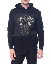 Men - Savage Embossed Pullover Hoodie