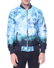 Men - Sky Print Nylon Jacket